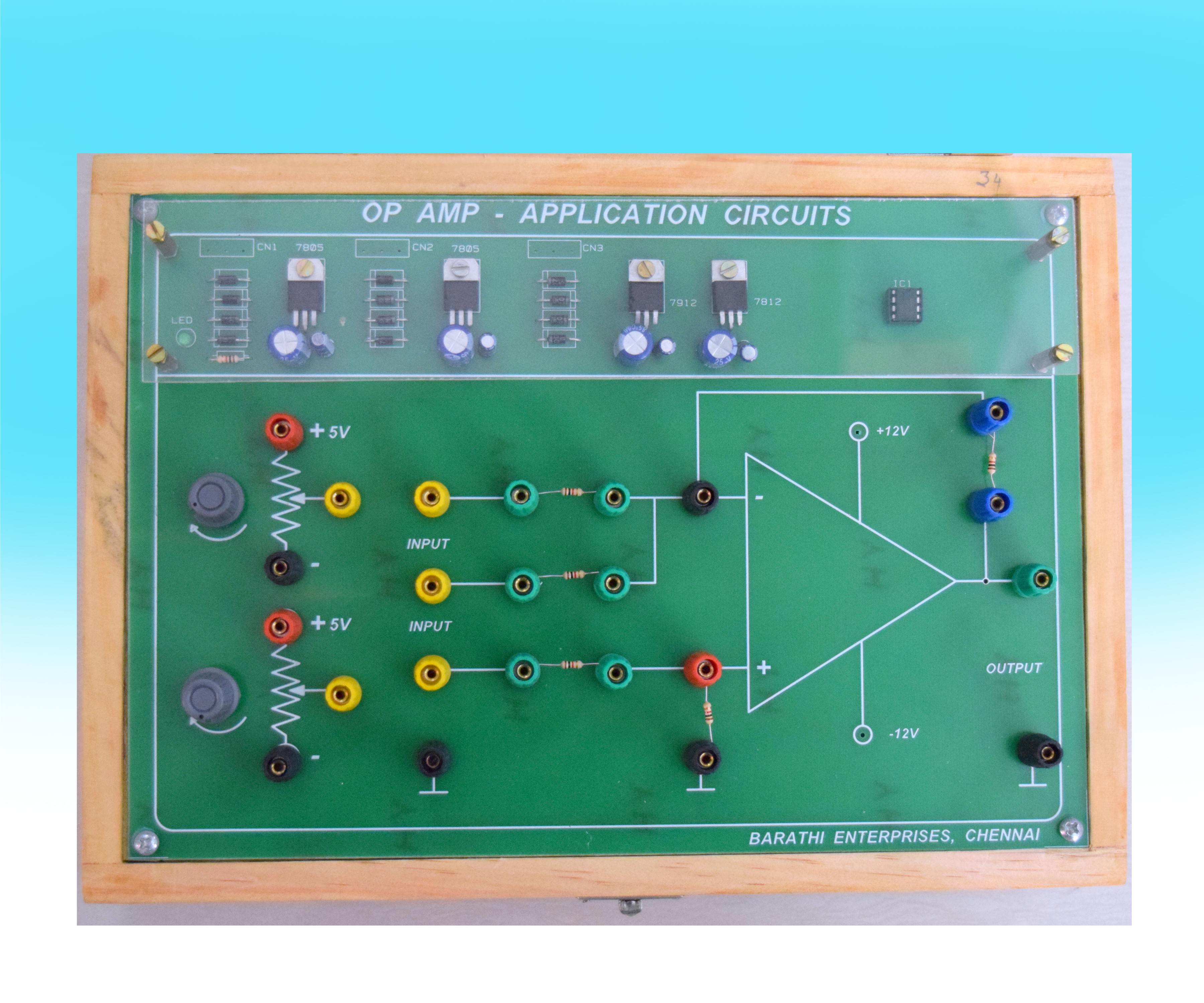 Barathi Enterprises The Left Opamp In Circuit Is An Inverting Summer Integrator Objective To Carry Out