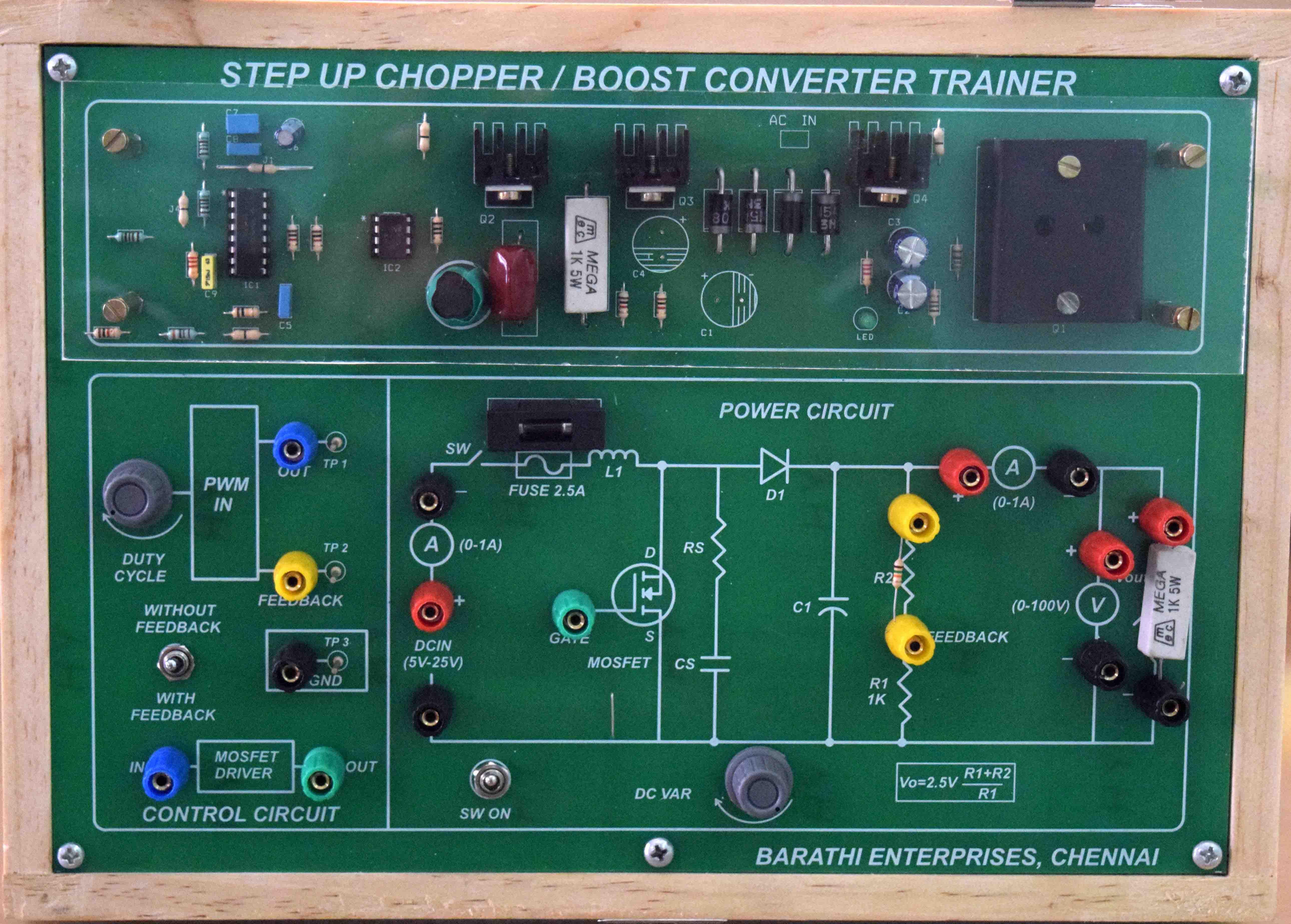 Barathi Enterprises Mosfet Test Circuit Objective